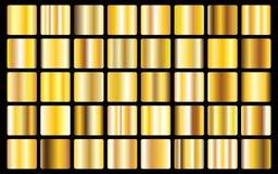 Sömlös modell för guld- symbol för bakgrundstexturvektor Realistisk, elegant, skinande, metallisk och guld- lutningillustration f vektor illustrationer