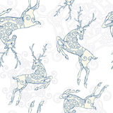 Sömlös modell för hjortar Arkivbilder