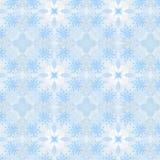 Sömlös modell för jul från vita snöflingor Royaltyfria Foton