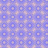 Sömlös modell för kalejdoskopiska tegelplattor Arkivfoto