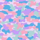 Sömlös modell 02 för kamouflage Arkivbild