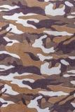 Sömlös modell för kamouflage, skogsmarkstilbakgrund Arkivbilder