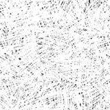 Sömlös modell för kaos svart white stock illustrationer