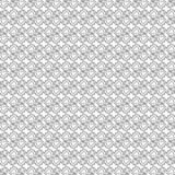 Sömlös modell för kugghjul från svarta konturlinjer Vektorillustrat stock illustrationer