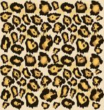 Sömlös modell för leopardgepardhud, Stiliserad prickig leopardhudbakgrund för mode, tryck, tapet, tyg vektor illustrationer