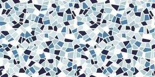 Sömlös modell för ljus abstrakt mosaik Det kan vara nödvändigt för kapacitet av designarbete Ändlös textur Fragment för keramisk  vektor illustrationer
