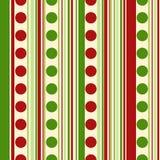 Sömlös modell för ljus jul Bakgrundsprickar, band EPS10 royaltyfri illustrationer