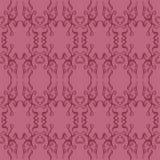 Sömlös modell för mörk rosa färgabstrakt begreppfiligran Royaltyfri Foto