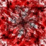 Sömlös modell för patchworkvattenfärg Royaltyfria Foton