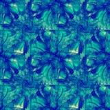 Sömlös modell för patchworkvattenfärg Arkivbilder