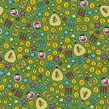 Sömlös modell för pengar. Arkivbilder