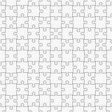 Sömlös modell för pussel som är svartvit Lätt att ta bort separata stycken vektor illustrationer