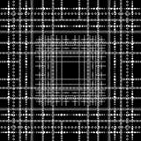 Sömlös modell för randig abstrakt svartvit vektor modernt Vektor Illustrationer
