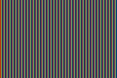 Sömlös modell för RGB-skärmprickar Television för parallell skärm tät textur upp royaltyfri illustrationer