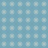 Sömlös modell för snöflingavektor fotografering för bildbyråer