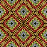 Sömlös modell för stam- färgrik geometrisk vektor Ljus abstra Vektor Illustrationer