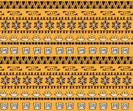 Sömlös modell för stam- konstboho Etniskt geometriskt tryck Royaltyfria Foton