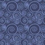 Sömlös modell för textil Royaltyfri Bild