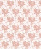 S?ml?s modell f?r tropisk blom- vektor i pastellf?rgade rosa signaler royaltyfri illustrationer