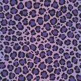 Sömlös modell för ultraviolett leopardvektor royaltyfri illustrationer