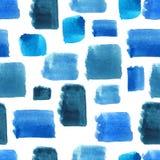 Sömlös modell för vattenfärg Arkivbild