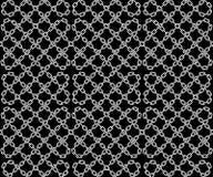 Sömlös modell för vektor av kedjor Arkivbilder