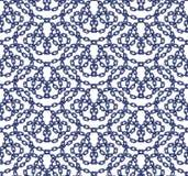 Sömlös modell för vektor av kedjor i plan stil Royaltyfri Fotografi