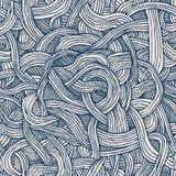 Sömlös modell för vektor av vriden band eller spagetti arkivbild