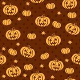Sömlös modell för vektor för halloween Arkivfoton