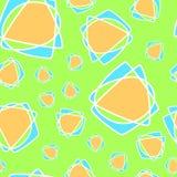 Sömlös modell för vektor, geometrisk bakgrund Arkivfoto