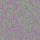 Sömlös modell för vektor med dekorativa rosor Härlig blom- bakgrunds… bakgrund med färgrika blommor Mjuk bakgrund Arkivfoto