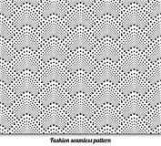 Sömlös modell för vektor. Modern stilfull textur. stock illustrationer