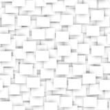 Sömlös modell för vit rektangel Royaltyfria Bilder
