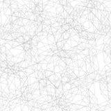 Sömlös modell från fina linjer decagon Vektor Illustrationer