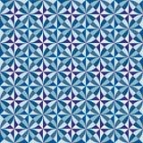 Sömlös modell, från olik geometrisk form Royaltyfria Foton