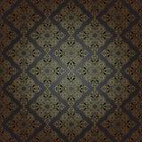 Sömlös modell i etnisk stil för mosaik. Royaltyfria Foton