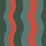 Sömlös modell med abstrakt bild av vågor och band Royaltyfri Foto