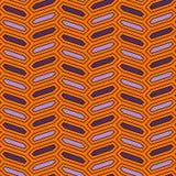 Sömlös modell med den vertikala flätad trådprydnaden Oktogontegelplattabakgrund Fiskbensmönstermotiv geometrisk wallpaper vektor illustrationer