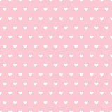Sömlös modell med hjärtor för dag för valentin` s stock illustrationer