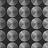 Sömlös modell med prickiga beståndsdelar Vektor som upprepar textur Royaltyfri Fotografi