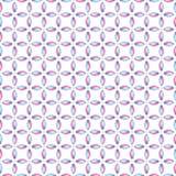 Sömlös modell med skärande kurvor vektor illustrationer
