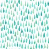 Sömlös modell med vattenfärgbeståndsdelen Royaltyfria Bilder