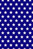 Sömlös modell med vita stjärnor Amerikanska flagganstil Mlk dag vektor royaltyfri illustrationer