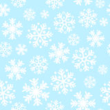 Sömlös modellbakgrund för abstrakt blå jul Arkivfoto