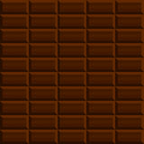 Sömlös modellbakgrund för choklad Arkivfoton