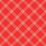 Sömlös modellbakgrund för plädöverkast, vektorn sys på det diagonala tyget för filt-, tröja- eller skjortatryck stock illustrationer