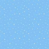 Sömlös modellbakgrund för snö Arkivfoto
