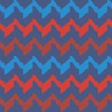 Sömlös modellbakgrund med abstrakta beståndsdelar, färgrik illustration stock illustrationer