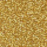 Sömlös modellbakgrund med guld blänker hjärtor också vektor för coreldrawillustration man för begreppskyssförälskelse till kvinna Arkivbild