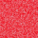Sömlös modellbakgrund med rött blänker hjärtor också vektor för coreldrawillustration man för begreppskyssförälskelse till kvinna vektor illustrationer